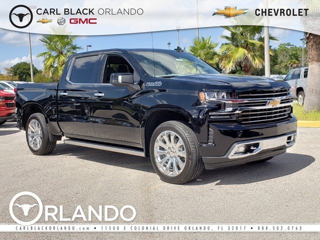 New 2019 Chevrolet Silverado 1500 High Country Crew Cab Pickup In