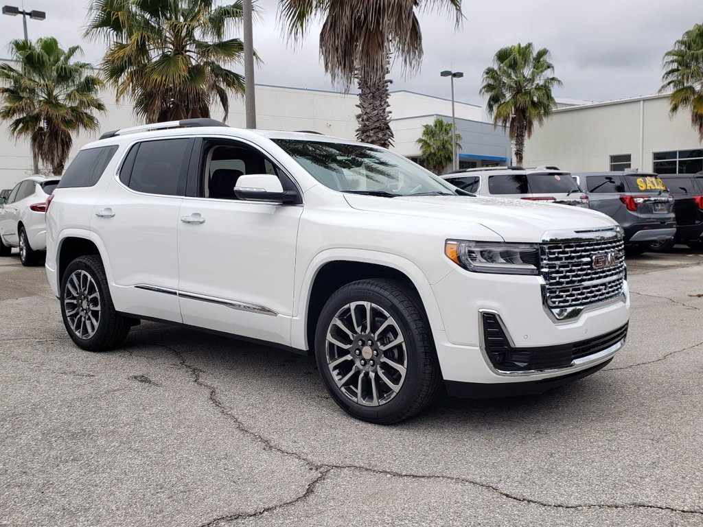 New 2020 Gmc Acadia Denali Fwd Suvs