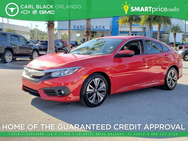 Pre Owned 2016 Honda Civic Sedan Ex T