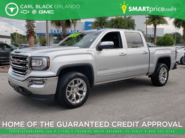 Pre Owned 2017 Gmc Sierra 1500 Slt Crew Cab Pickup In Orlando