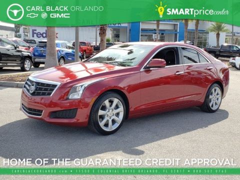 Pre-Owned 2014 Cadillac ATS Standard RWD