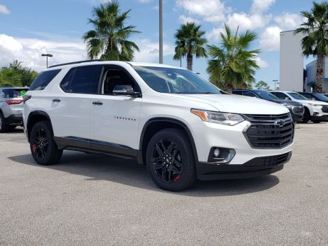 New 2020 Chevrolet Traverse Premier FWD SUVs