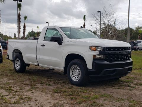 New 2020 Chevrolet Silverado 1500 Work Truck RWD Fleet