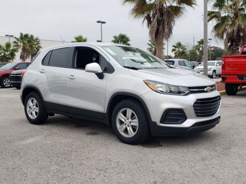 New 2020 Chevrolet Trax LS FWD SUVs